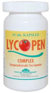 Lycopen Complex er et kosttilskud baseret på tomater